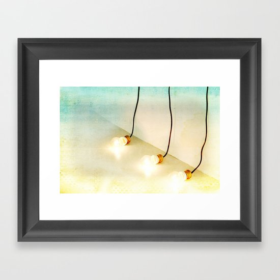 any ideas? - globes Framed Art Print