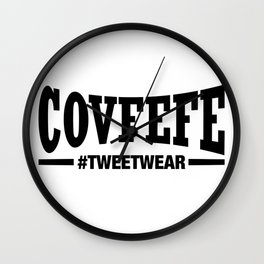 Covfefe - Tweetwear Wall Clock