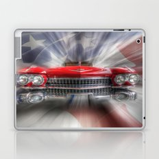 Red White and Blue Caddy Laptop & iPad Skin
