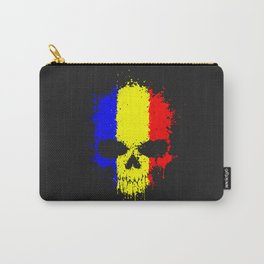 Romanian skull Carry-All Pouch