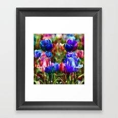 A Floral Dream of Spring Framed Art Print