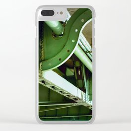 Underbelly, bridge, Oregon Clear iPhone Case