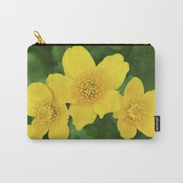 Marsh Marigold Caltha Palustris Carry-All Pouch