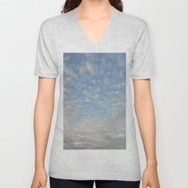 Blue Sky Photograph Unisex V-Neck
