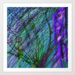 Lurking Below Art Print