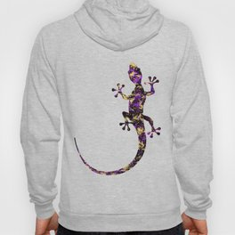 Abstract Lizard Hoody