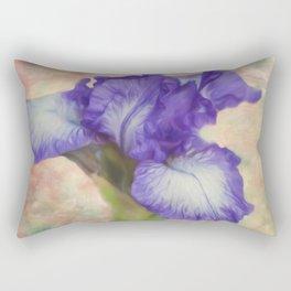 Flower Art - The Meaning Of An Iris Rectangular Pillow