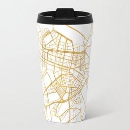 SOFIA BULGARIA CITY STREET MAP ART Travel Mug
