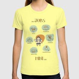 Minijobs (Spanish version) T-shirt