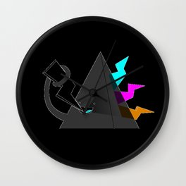 Dark Side of the Noms Wall Clock