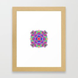 Movement Mandala Framed Art Print