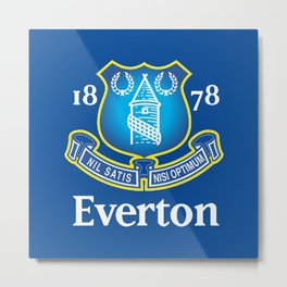 Everton F.C. Metal Print