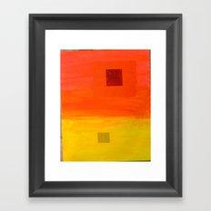 Sunset-Haze II Framed Art Print