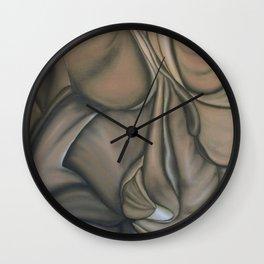 Dark side of Datura Wall Clock