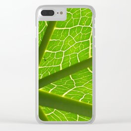Network Clear iPhone Case