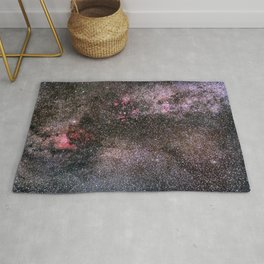 North America Nebula, the center of the Milky Way. Cysnus Constelation Rug