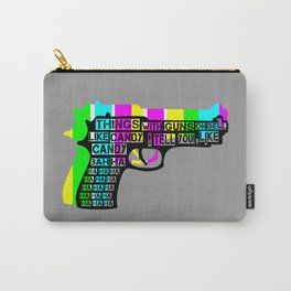 Guns and Candy Carry-All Pouch