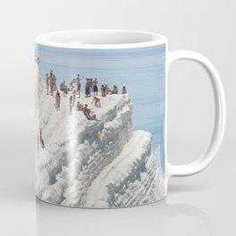 Rocky cliff Scala dei Turchi, Sicily, Italy Coffee Mug