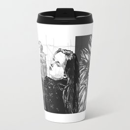 DAMASCUS composition 0013 Travel Mug