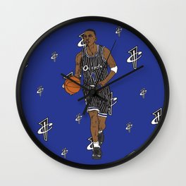 Penny Hardaway Wall Clock