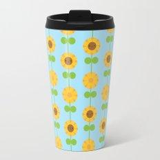 Kawaii Sunflowers Travel Mug