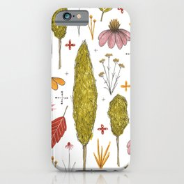autumn in my yard iPhone Case