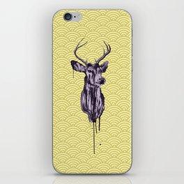 Deer Head IV iPhone Skin