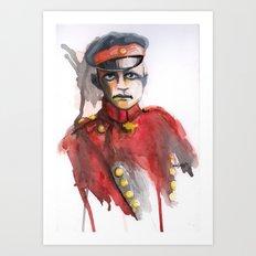 le petit Rouge (Little Red) Art Print