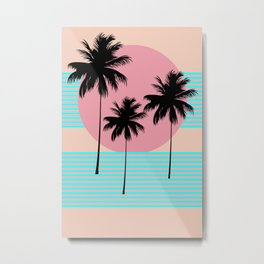 Hello California - Ocean Breeze Metal Print