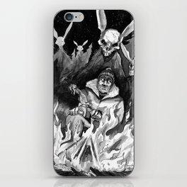 Hunter Beware iPhone Skin