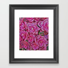 :: Pink Day :: Framed Art Print