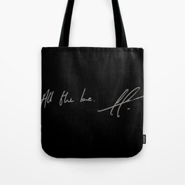 All the love. Tote Bag