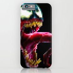 Venom Pixel : Black Background iPhone 6s Slim Case