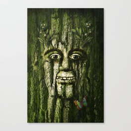 The Tremendous Mr. Treebley Canvas Print