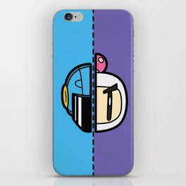 Old & New Bomber Man iPhone Skin