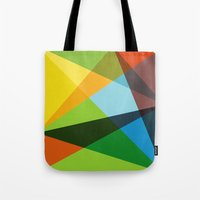 kaleidoscope Tote Bags featuring Kaleidoscope by Marina Design