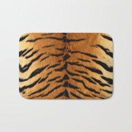 Faux Siberian Tiger Skin Design Bath Mat