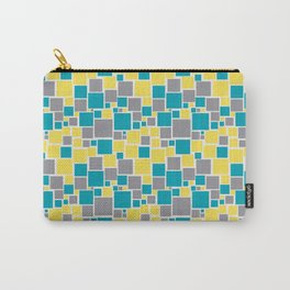 Funky Mosaic Pattern V5 Pantone 2021 Colors of the Year and Accent Hues Carry-All Pouch