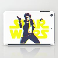 han solo iPad Cases featuring Solo by Aaron Johnson Design