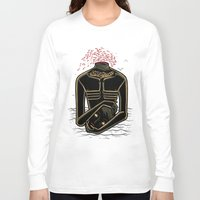 camus Long Sleeve T-shirts featuring the stranger - camus by miles to go