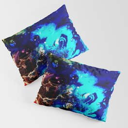 Cosmic Color Pillow Sham