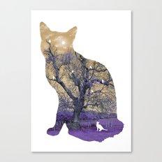 A cat's life II Canvas Print