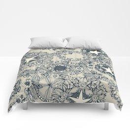 cirque fleur stone Comforters