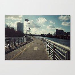 river walkin' Canvas Print
