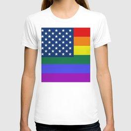 American Pride Flag T-shirt