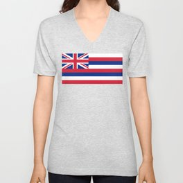State flag of Hawaii Unisex V-Neck
