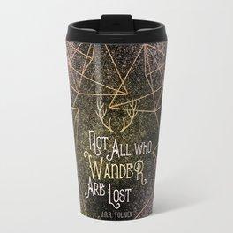Not All who Wander Travel Mug