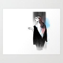 give me fancy Art Print