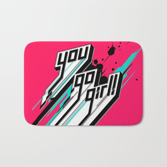 You Go Girl! Bath Mat