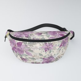 POINSETTIA - FLOWER OF THE HOLY NIGHT 2 Fanny Pack